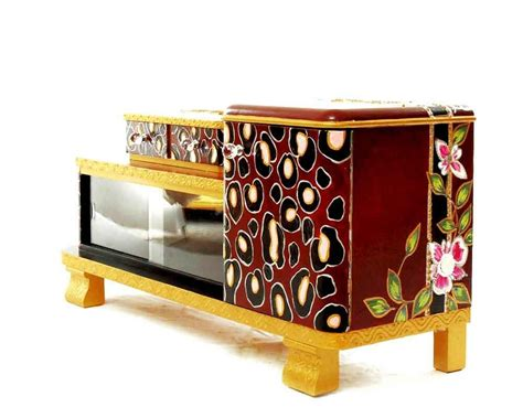 kommode upcycling upcycling bemalte m 246 bel kommode quot pink leopard quot renio
