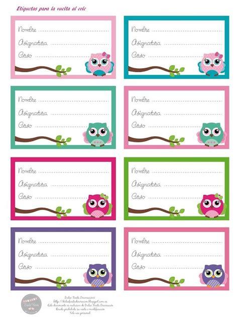 etiquetas para poner nombre a los cuadernos colorear m 225 s de 25 ideas incre 237 bles sobre etiquetas para cuadernos