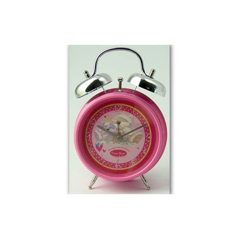 sveglia da comodino sveglia da comodino fizzy moon rosa batteria compresa