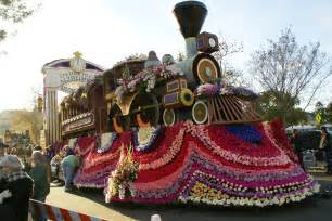 Report From Atop The Rose Parade Float Dallas Trailblazers Parade Float