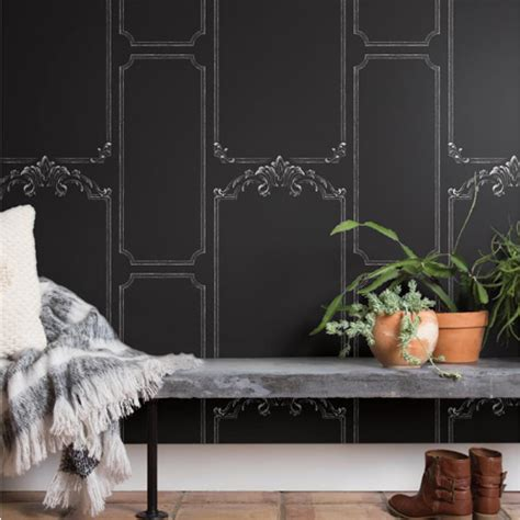 magnolia homes wallpaper chalkboard wallpaper from joanna gaines magnolia home by york