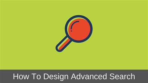 Advanced Search How To Design Advanced Search Interface Step By Step