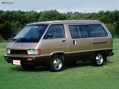 Pictures Of Toyota Pictures Of Toyota Tarago 1984 90 1024x768