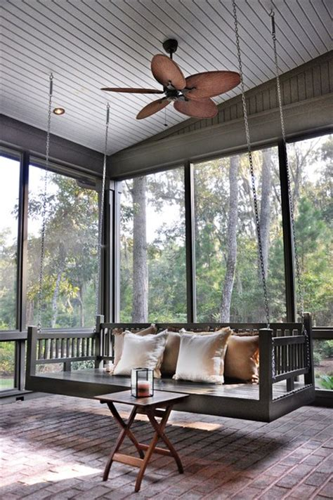 porch swings atlanta porch bed swing traditional porch atlanta by
