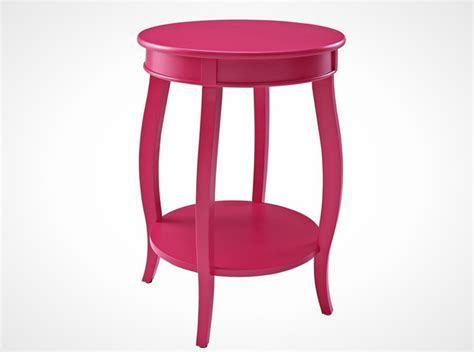 Pink Accent Table by 25 Colorful Furniture Finds 100 Brit Co