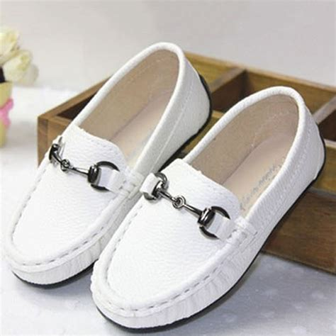 white toddler loafers toddler boys fashion peas loafer shoes slip on soft