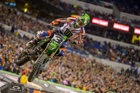 monster energy ama motocross eli tomac takes sixth win in indy transworld motocross