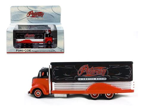 Hotwheels Ford Coe Petersen Automotive Museum starsun depot wheels 1938 ford coe black petersen automotive museum diecast model by hotwheels