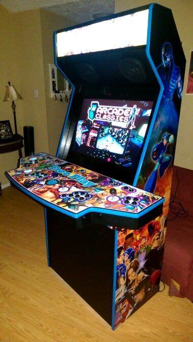 4 player arcade cabinet arcade cabinet 4 players diy arcade