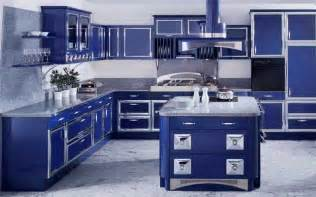 Blue Kitchen Designs Alluring Blue Kitchen Design Ideas Home Design