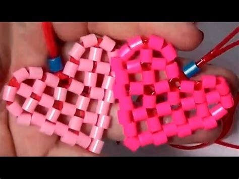 diy crafts perler beads heart how to make a heart with