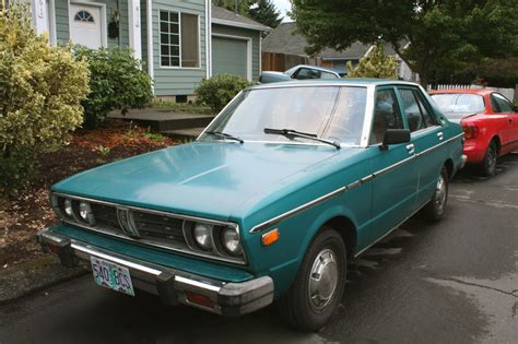 Skyland One Abominations parked cars 1978 datsun 510