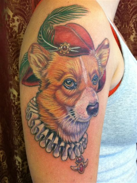 corgi tattoo the 15 coolest corgi designs in the world