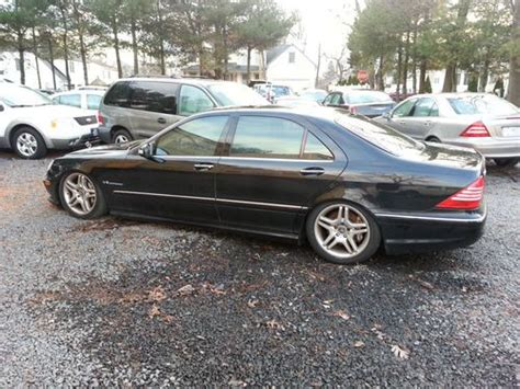 mercedes s55 amg 2003 find used 2003 mercedes s55 amg kompressor sedan 4