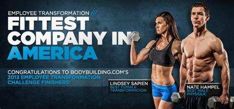 bodybuilding challenge 2013 bodybuilding employee transformation challenge