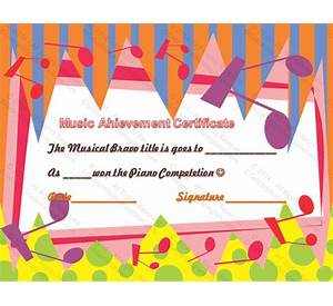 99 music certificate award template sample business plan on music certificate template free and customizable yelopaper Images