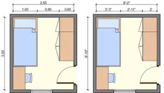 small bedroom size in kid s bedroom layouts with one bed