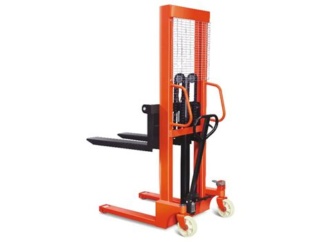 1 5 ton x 1 6 metre stacker 1500kg high lift fork pallet truck manual