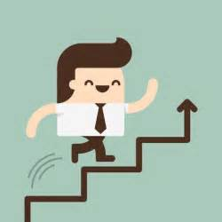 Going Up Stairs by Man Going Up By A Stairs Vector Free Download