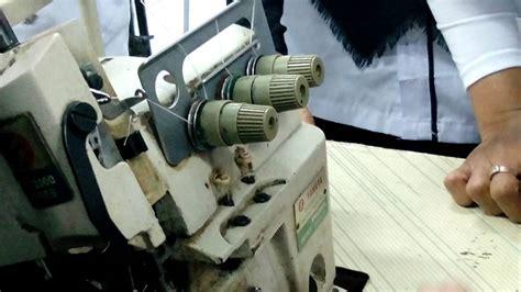 Mesin Obras cara menjalankan mesin obras