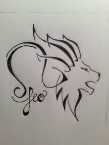 zodiac leo lion head tattoo design tattooshunt com
