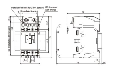 Contactor 220v Mitsubishi mitsubishi แมคเนต ค magnetic contactors s t10 coil 220v