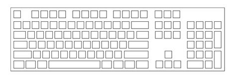 Drawing Keyboard by The Standard Canadian Computer Keyboard