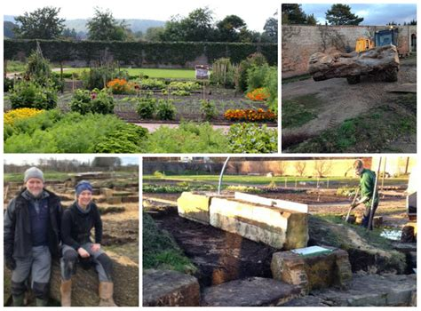 Now Building A Natural Play Area For Gordon Castle In Building A Walled Garden