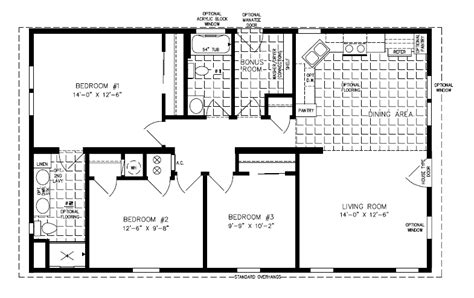 the twin tinyvilla 3 bedroom house floor plans home design plan