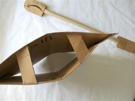 cardboard boat costume how to make a cardboard canoe halloween costume for kids