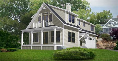 desain rumah ala amerika contoh desain rumah amerika hontoh