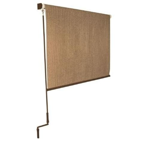 Roller Blind Chain 164 X 120 coolaroo walnut cordless exterior roller shade 120 in w x 96 in l home the o jays and