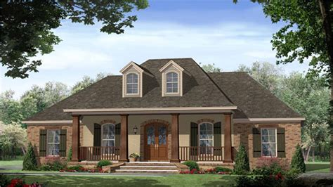 best one story french country house plans house design