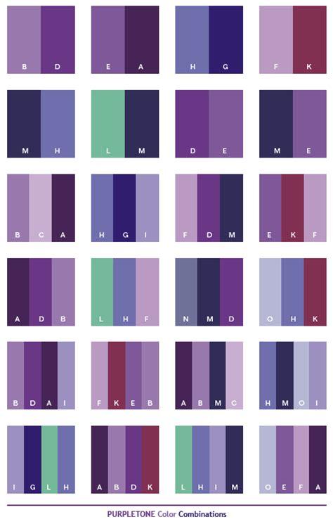 purple color schemes on design seeds color
