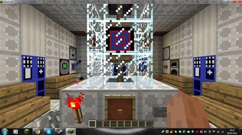custom minecraft tardis console room by