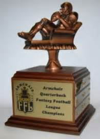 armchair quaterback football award