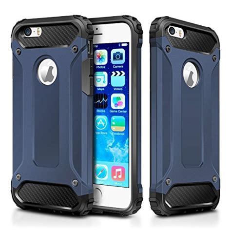 Bumper Armor Polycarbonate Heavy Casing Iphone 5 5s 5 Se iphone 5s iphone se wollony rugged hybrid dual