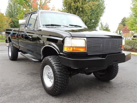 1995 Ford F250 by 1995 Ford F 250 Xlt 4x4 7 3l Turbo Diesel Bed