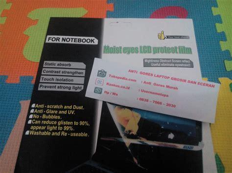 jual anti gores laptop atau notebook ukuran 14 quot inch grosir dan eceran anti gores murah