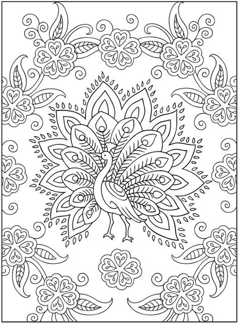 coloring pages of mehndi designs embroidery pattern idea creative haven mehndi designs