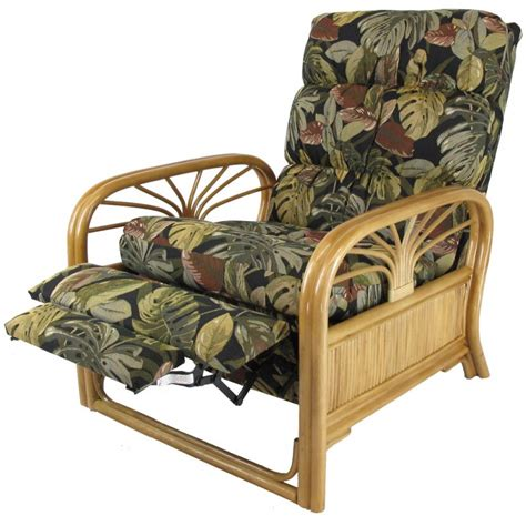 bamboo recliner chair sundance rattan recliner honey