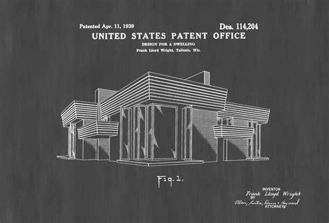 frank lloyd wright home decor frank lloyd wright house design patent decor patent
