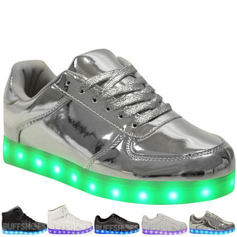 led light up shoes ebay womens usb led lights sneakers shoes luminous