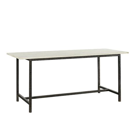wood desk with metal legs wooden table with metal legs by bell blue