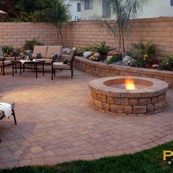 Backyard Patio Pavers Top 25 Best Concrete Backyard Ideas On Pinterest