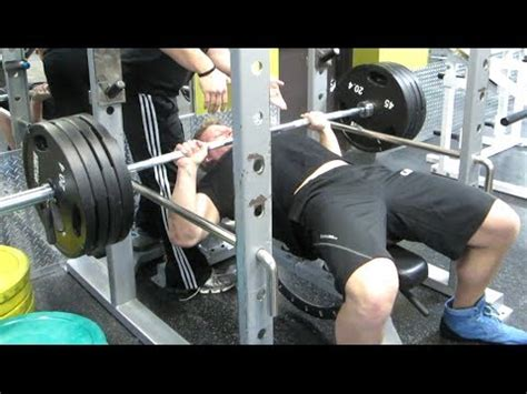 405 lb bench press 405 pounds on bench press furious pete youtube