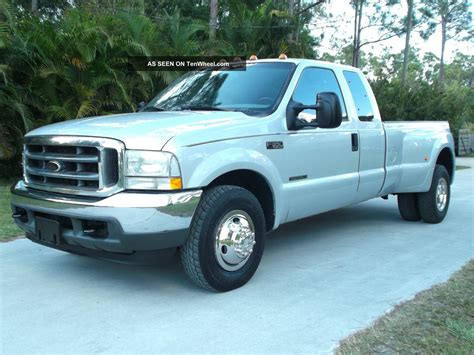 ford f 350 diesel dually 2002 ford f 350 cab dually 7 3 litre powerstroke diesel