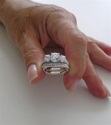 Special Three Stone Diamond Engagement Ring Set