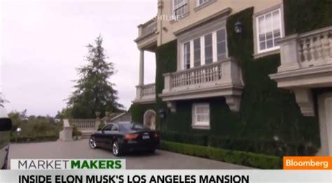elon musk residence inside elon musk s bel air mansion