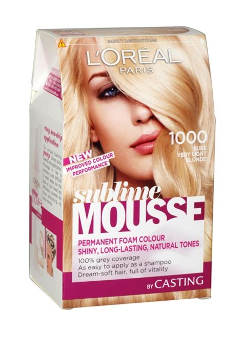 1000 images about permanent hair colours by l oreal professional on hair color loreal sublime mousse permanent foam hair colour 1000 light